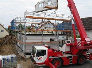 בית בזמן תוספת בניה קלה