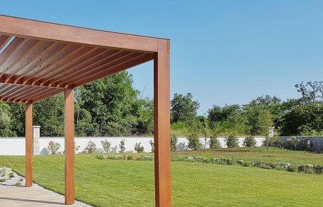 עץ – חומר הגלם המושלם לפרגולות